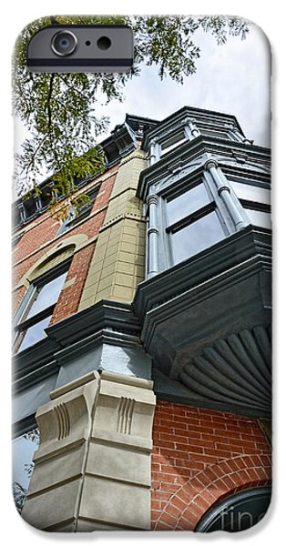 Fort Collins iPhone Cases - Historic District  iPhone Case by Keith Ducker