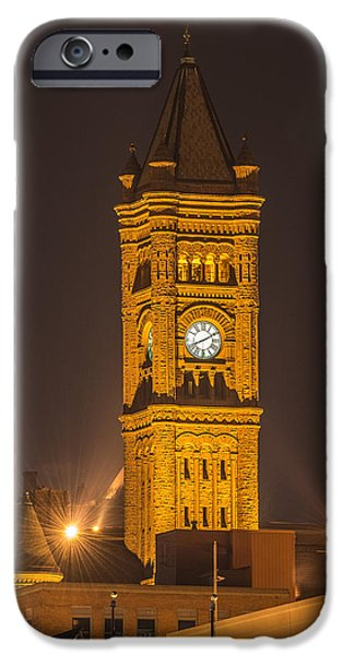 Duluth iPhone Cases - Historic Duluth High School iPhone Case by Paul Freidlund