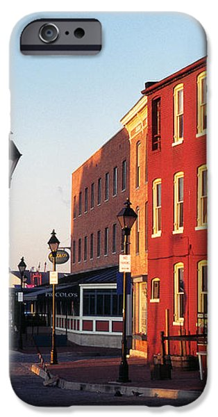 Historic Fells Point iPhone Case by Thomas R Fletcher