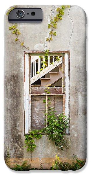 Historic Florida Building - Apalachicola Exchange Building iPhone Case by Bill Swindaman