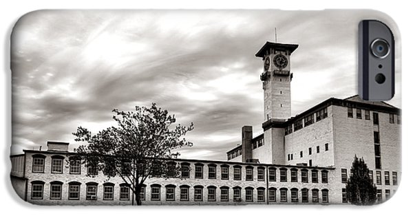 Bucks County iPhone Cases - Historic Grundy Mills iPhone Case by Olivier Le Queinec