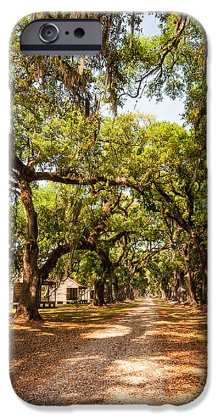 Historic Lane iPhone Case by Steve Harrington