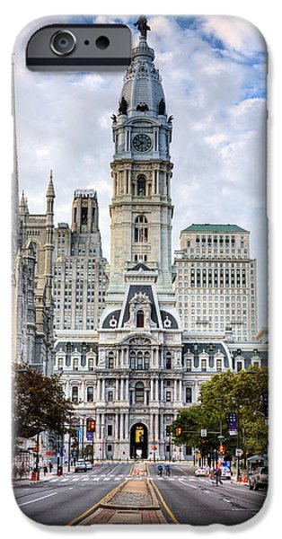 Town iPhone Cases - Historic Philly iPhone Case by JC Findley