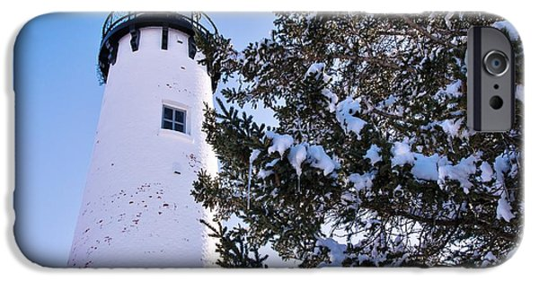 Wintertime iPhone Cases - Historic Point Iroquois  iPhone Case by Flora Ehrlich