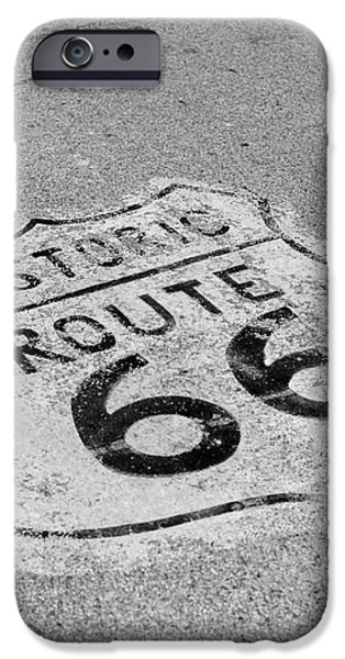 Historic Route 66 iPhone Case by Kay Pickens