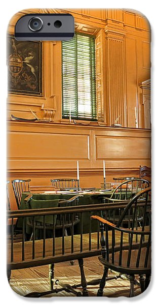 Historic Supreme Court iPhone Case by Olivier Le Queinec