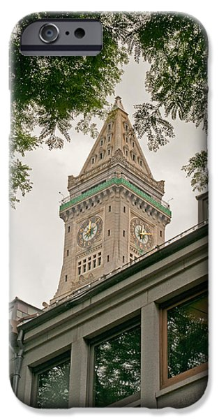 Boston Ma iPhone Cases - Historically Framed iPhone Case by Paul Mangold