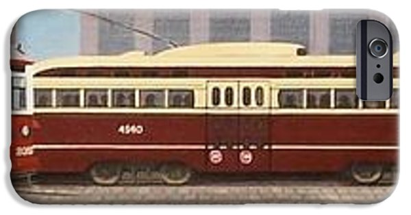 Pcc iPhone Cases - History of the Toronto Streetcar iPhone Case by Kenneth M  Kirsch