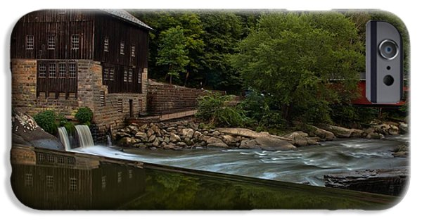 Grist Mill iPhone Cases - History On Rock Creek iPhone Case by Adam Jewell