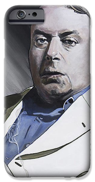 Evolution iPhone Cases - Hitchens iPhone Case by Simon Kregar