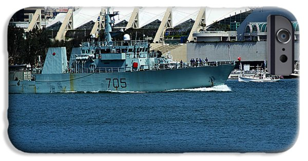 Recently Sold -  - Pirate Ships iPhone Cases - HMCS Whitehorse-MM 705 iPhone Case by See My  Photos