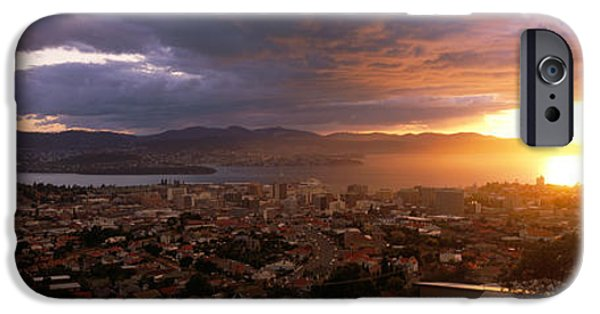 Hobart iPhone Cases - Hobart, Australia iPhone Case by Panoramic Images