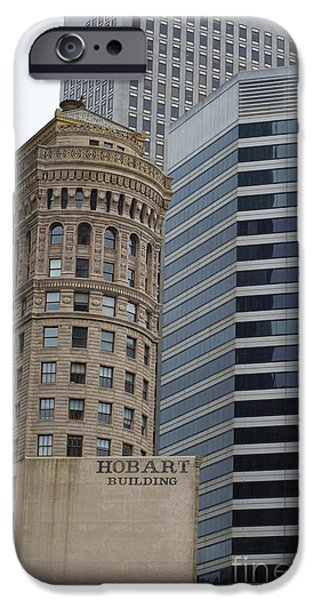 Hobart iPhone Cases - Hobart Building iPhone Case by David Bearden
