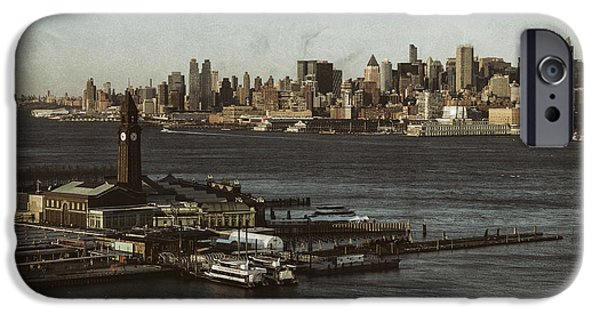 Hudson River iPhone Cases - Hoboken Station iPhone Case by D Plinth