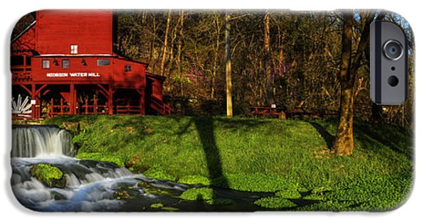 Mill iPhone Cases - Hodgson Mill Pano iPhone Case by Kevin  Whitworth