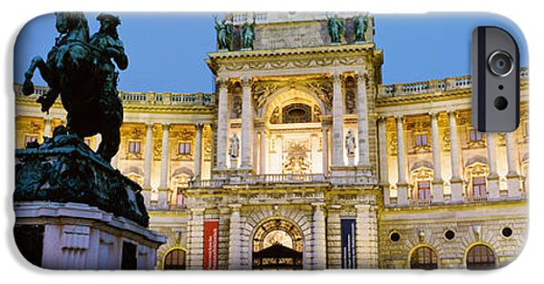 Figures iPhone Cases - Hofburg Palace, Vienna, Austria iPhone Case by Panoramic Images