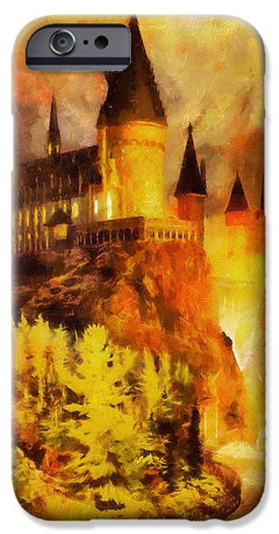 Hogwarts college iPhone Case by George Rossidis