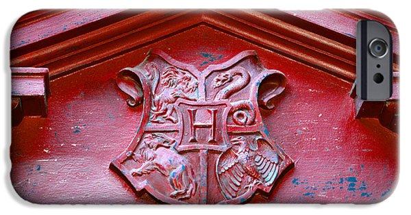 Hogwarts iPhone Cases - Hogwarts Crest iPhone Case by David Lee Thompson