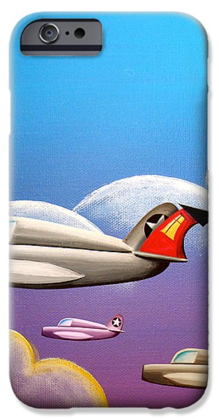 Hold On Tight iPhone Case by Cindy Thornton