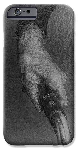 Dexterity iPhone Cases - Holding on  iPhone Case by Patricia Hofmeester