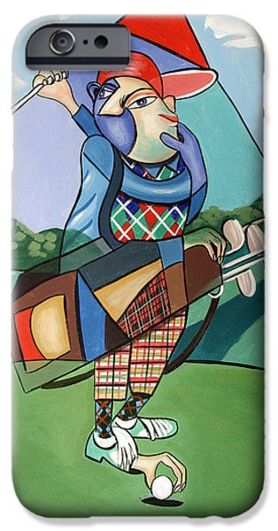 Golfing iPhone Cases - Hole In One iPhone Case by Anthony Falbo