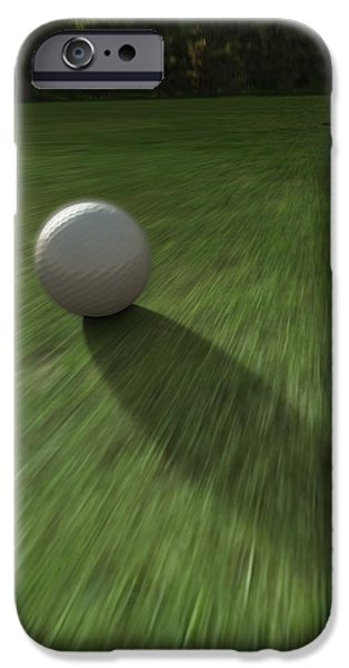 Approaching iPhone Cases - Hole in One iPhone Case by Cynthia Decker