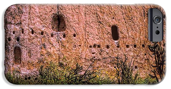 Valles Grande National Preserve iPhone Cases - Hole in the Wall Gang iPhone Case by Jon Burch Photography