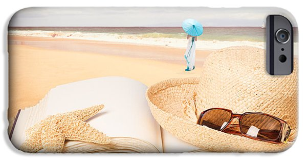Straw iPhone Cases - Holiday Book iPhone Case by Amanda And Christopher Elwell