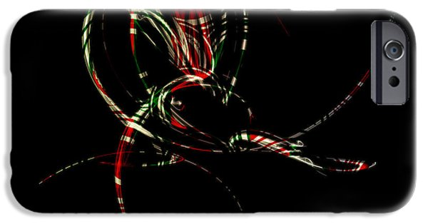 Brenda Bryant iPhone Cases - Holiday Peppermint iPhone Case by Brenda Bryant