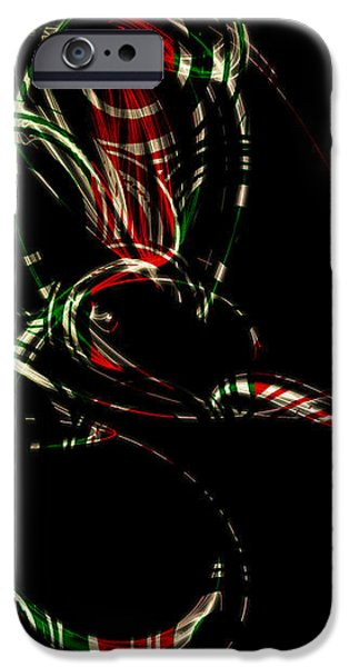 Holiday Peppermint iPhone Case by Brenda Bryant