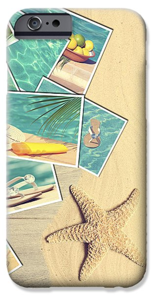 Holiday Postcards iPhone Case by Amanda And Christopher Elwell