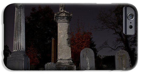 Final Resting Place Photographs iPhone Cases - Hollywood Cemetery iPhone Case by Jemmy Archer