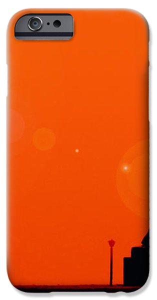 Holocaust Memorial - Sunset iPhone Case by Nishanth Gopinathan