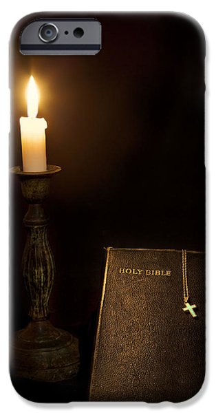 Holy Bible iPhone Case by Bill  Wakeley