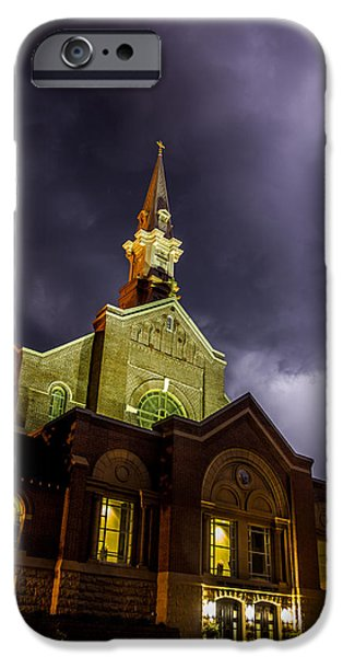 Minnesota iPhone Cases - Holy Redeemer iPhone Case by Aaron J Groen