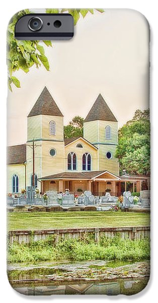 Holy Rosary Church iPhone Case by Scott Pellegrin