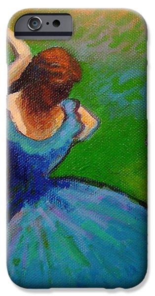 Homage to Degas II iPhone Case by John  Nolan