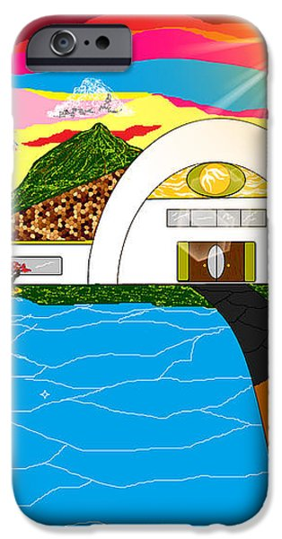 Home in Paradise iPhone Case by Lewanda Laboy