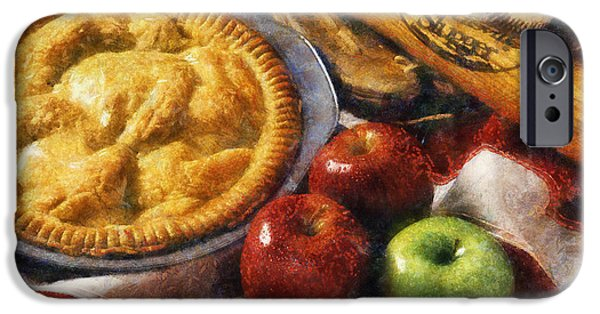 Thanksgiving Digital iPhone Cases - Home Made Apple Pie iPhone Case by Ian Mitchell