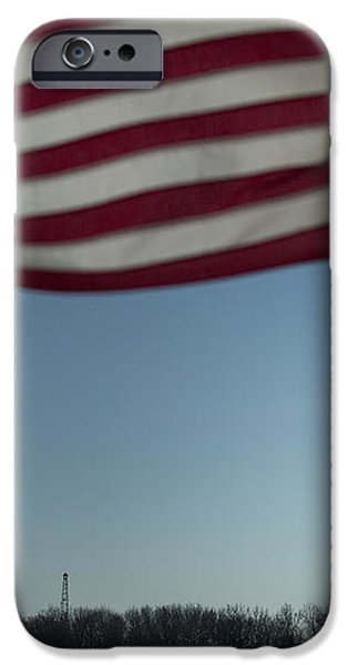 Home of the Brave iPhone Case by Mark Milar