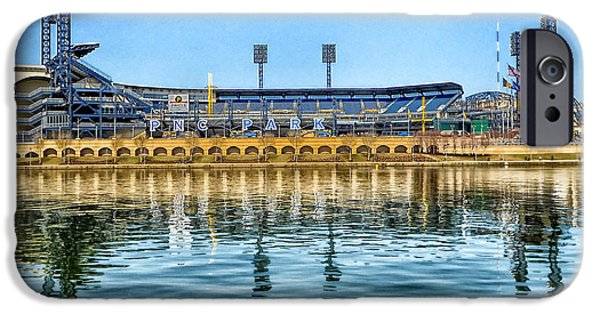 Pennsylvania Baseball Parks iPhone Cases - Home of the Pirates iPhone Case by Mountain Dreams