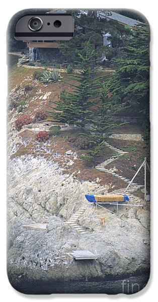 Sailboat Ocean iPhone Cases - Home on the Pacific iPhone Case by Chris Selby