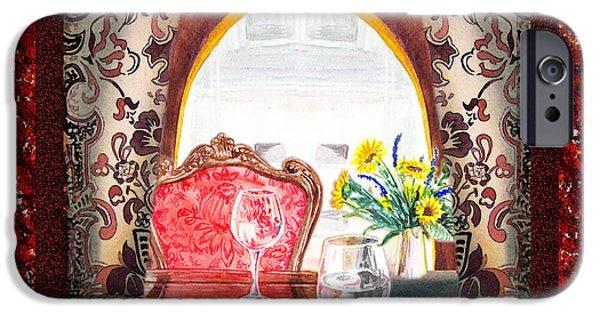 Corridor iPhone Cases - Home Sweet Home Decorative Design Welcoming Two iPhone Case by Irina Sztukowski