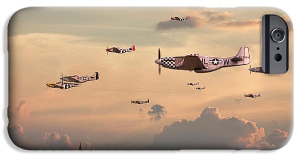 Classic Aircraft iPhone Cases - Home to Roost iPhone Case by Pat Speirs