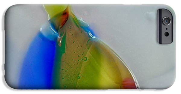 Fine Abstract Glass iPhone Cases - Homer iPhone Case by Omaste Witkowski