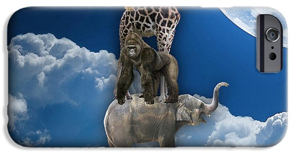 Clouds iPhone Cases - Homeward Bound iPhone Case by Marvin Blaine