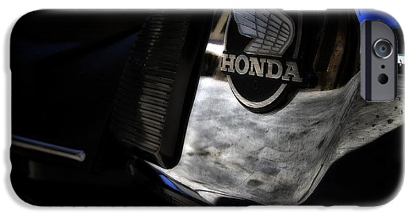 2 Seat iPhone Cases - Honda CD200 Road Master iPhone Case by Stylianos Kleanthous