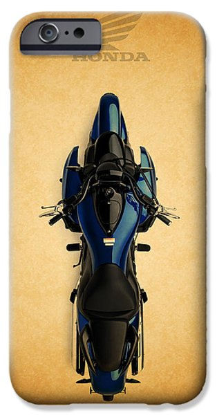 Honda iPhone Cases - Honda The Art of the Motorcycle iPhone Case by Mark Rogan