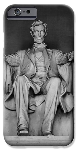 D.c. iPhone Cases - Honest Abe iPhone Case by James Drake