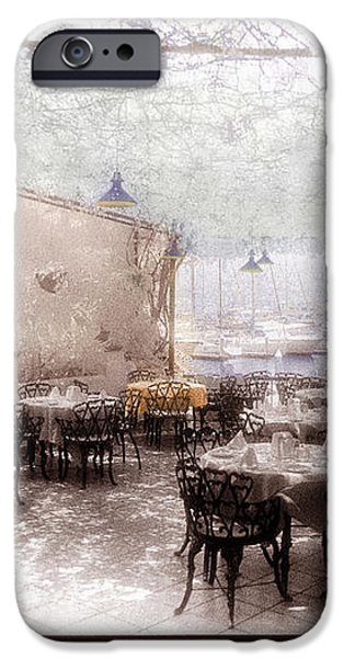 Honeymoon Cafe iPhone Case by Jeanette Brown